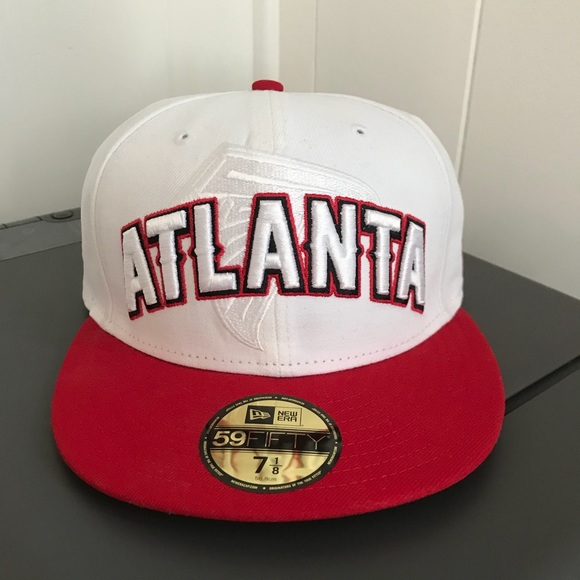 1c3d40b100b White Atlanta Falcons NFL Cap. M 5a6fdd4e739d48aef3511dee. Other  Accessories you may like. New Men s New Era Boston Celtics SnapBack hat
